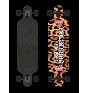 Leopard Longboard